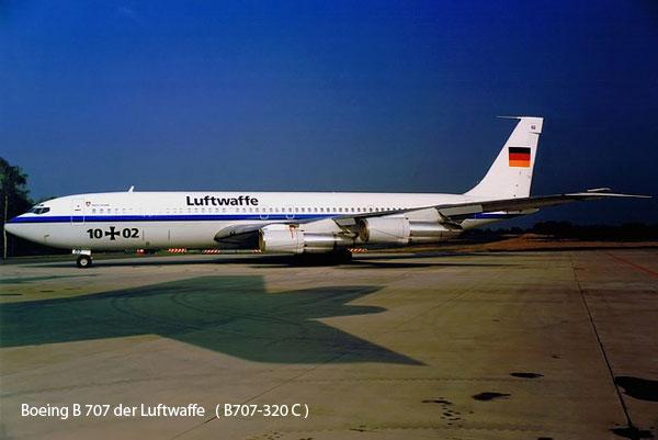 Boeing B 707 der Luftwaffe   ( B707-320 C )