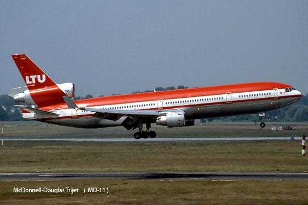McDonnell-Douglas Trijet    (  MD-11 )